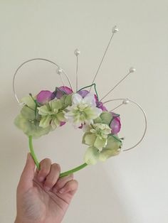 Tiana Princess and the Frog Inspired Mouse Ears by GoldenFlowerCo