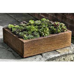 Stone Barn Board Garden Planter - Medium