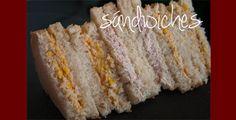 Sándwiches variados en Thermomix. Receta de Saboresytexturas.