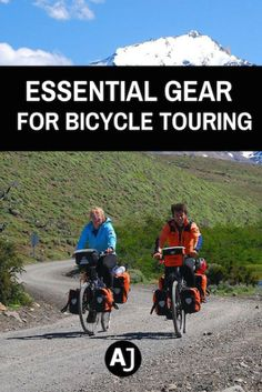 All the important gear you need to travel by bicycle. The absolute essentials you don't want to forget back home.