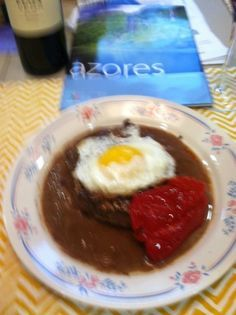 This is a very popular recipe in this area where the population is mostly of Portuguese decent. A gal I work with, who is from the Azores gave me this one. Steak Recipes, Egg Recipes, Sauce Recipes, Fall Recipes, Grilling Recipes, Cooking Recipes, Portuguese Recipes, Portuguese Steak Sauce Recipe, Porto