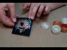 Perfect Pearls Basics (stamping, creating your own spritzers) by Art House Studio via YouTube