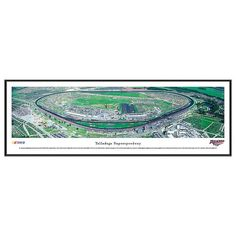 Nascar Talladega Superspeedway Framed Wall Art, Multicolor