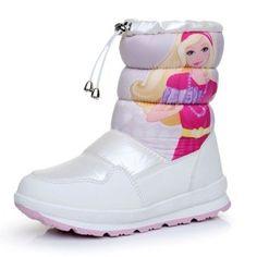 Apakowa Children Shoes PU Leather Waterproof Boots - baby shoes town 5fd6418b3e27