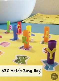The Educators' Spin On It: ABC Fun Busy Bag