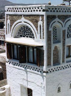 Sana'a Architecture, Yemen, via Flickr.