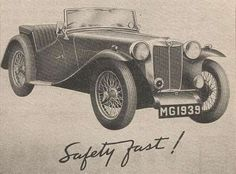 History of the MG TD - The MG T-types - Web page regarding to the history of the MG TD Type Web, Classic Cars Online, Antique Cars, History, Vintage Cars, Historia