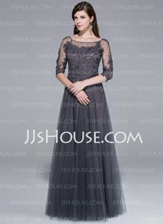 Evening Dresses - $170.49 - A-Line/Princess Scoop Neck Floor-Length Tulle Evening Dress With Lace Beading (017025440) http://jjshouse.com/A-Line-Princess-Scoop-Neck-Floor-Length-Tulle-Evening-Dress-With-Lace-Beading-017025440-g25440/?utm_source=crtrem&utm_campaign=crtrem_US_28009 Lace Beading, Beaded Lace, Beautiful Gowns, Gorgeous Dress, Pretty Dresses, Scoop Neck, Mob Dresses, Bridesmaid Dresses, Formal Dresses