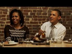 The Obama's talk with the President's Dinner Contest winners about their first date, etc. I wish I had been there! ;-)