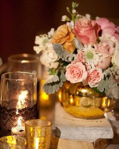 Realizando um Sonho   Blog de casamento e vida a dois: Decoração ROSA e DOURADA