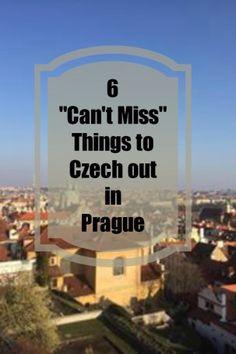6 Things To Czech Out In Prague | Prague, Czech Republic | Europe Travel Tips | Eastern Europe | Follow Me Away Travel Blog | Best Travel Destinations
