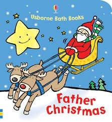 Father Christmas bath book
