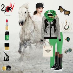 """Year of the Horse"" by lnoelle on Polyvore  Find me on facebook https://www.facebook.com/LisaKostChloeIsabel"