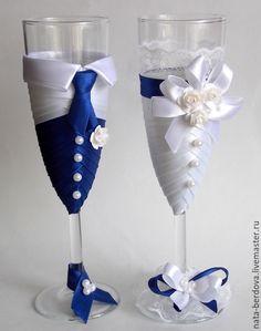 бокалы на свадьбу жених и невеста - Поиск в Google