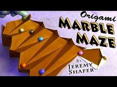 Origami Marble Maze - YouTube