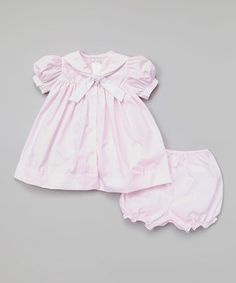 Love this Pink Nautical Swing Dress & Bloomers - Infant by Petit Ami on #zulily! #zulilyfinds