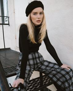 41 Plaid Outfits To Inspire Everyone Outfits Parisian chic Plaid Outfits, Fall Outfits, Cute Outfits, Fashion Outfits, Womens Fashion, Fashion Trends, Mod Outfits, Style Fashion, Trending Fashion