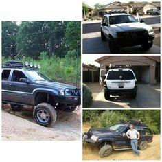 Jeep Grand Cherokee WJ Safari Roof Rack   #jeep #xj #wj #cherokee #zj #grandcherokee #kevinsoffroad Car Insurance Rates, Jeep Parts, Jeep Xj, Jeep Grand Cherokee, Roof Rack, Safari, Rigs, Products, Style