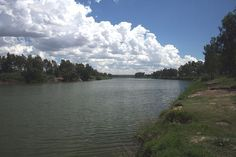 Confluence of the Orange and Vaal Rivers. Had the most delightful braii here one day, perfection!