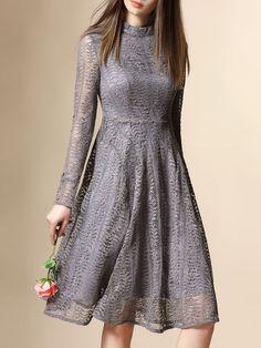 NEXIIA- Lace Pierced Cotton-blend Midi Dress $68  How about it?