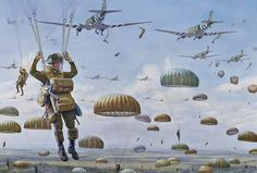 Operation Market-Garden: Jumping on drop zone T, Groesbeek Heights, Sept. 17, 1944, Steve Noon