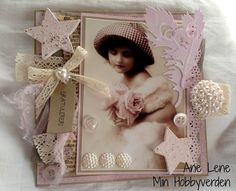 Min hobbyverden Handmade Cards, Boxes, Frame, Home Decor, Homemade Home Decor, Crates, Box, Cubbies, Interior Design