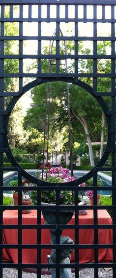 Garden, Joe Ruggiero. Accents of France lattice.