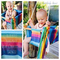 Wrap swings! Omg I'm dead! https://www.etsy.com/listing/186058765/handmade-wrap-conversion-baby-swing