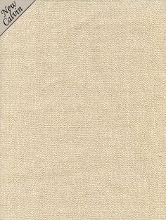 Calvin Fabrics - BENNET LINEN TEXTURE - BONE - warm sand 100% Belgian linen - contract rating: WYZENBEEK: 30,000 & NFPA 260/UFAC CLASS I