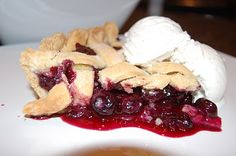 Day 42 - Blueberry Pie - 365 Days of Baking
