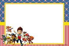 Paw Patrol Cake, Paw Patrol Party, Paw Patrol Birthday, Imprimibles Paw Patrol, Printable Name Tags, Bookmark Craft, Fourth Birthday, Party Printables, Disney Characters