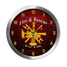 Fire And Rescue For Life Diamond Plate Modern Wall > Fire and Rescue For Life > The Art Studio by Mark Moore