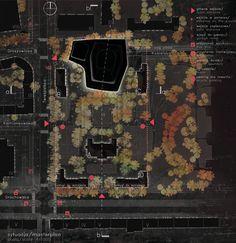 Sinfonia Varsovia Concert Hall / Hermanowicz Rewski Architekci.  Site Plan