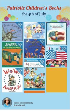 Independence Day Reading And Activities For Kids on July 4th