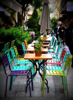 GREECE CHANNEL | Lovely cafe, Athens, Greece