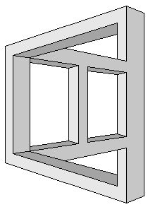 Greyscale figures - Impossible world Amazing Optical Illusions, Optical Illusion Quilts, Illusion Drawings, Illusion Art, How To Draw Illusions, 3d Art Drawing, Geometric Drawing, Op Art, Illusion Tricks