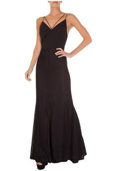 LE LIS BLANC - Vestido longo Carol Le Lis Blanc - preto - OQVestir