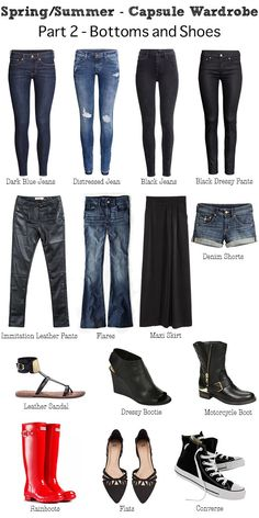 I saw a pair of flares that caught my eye. I tried them on and they fit great so I officially added them to my capsule wardrobe even though I haven't bought them yet.