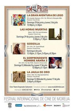 FICM de #Pátzcuaro, nos comparte la cartelera del mes de Julio: Aprovecha y disfruta de magníficos filmes en la compañía de un espectacular pueblo mágico. Te invita el Hotel Valmen. http://www.valmenhotel.com.mx/