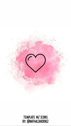 Capa com Icons para Instagram Stories Destaques Emoji Wallpaper, Heart Wallpaper, Disney Wallpaper, Instagram Logo, Instagram Feed, Instagram Story, Whatsapp Logo, Insta Icon, Graduation Pictures