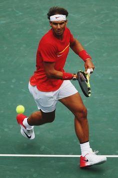 Rafa in action against Simon | 2016 Olympics Day 6 - Tennis Blog