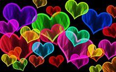 RAINBOW HEARTS #RAINBOW #HEARTS #RAINBOW_COLORS