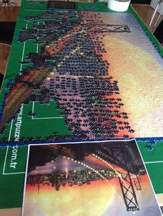 My Puzzle project with 18.000 pieces