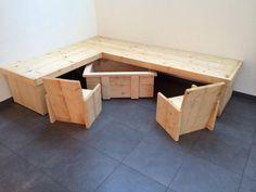 Klanten van Jongeneel zijn creatief met steigerhout!  Prachtige kinder speelhoek!