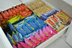 Snack Organization #home #decor