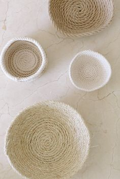 DIY Rope Bowls on The Design Network