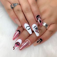 66 acrylic nails coffin matte kylie jenner 34 decorszilla com Coffin Nails Kylie Jenner, Coffin Nails Matte, Best Acrylic Nails, Long Nail Designs, Acrylic Nail Designs, Nail Art Designs, Nails Design, Hot Nails, Hair And Nails