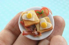 I Heart Breakfast Special- 1/12 scale by theMouseMarket.com, via Flickr... so sweet!