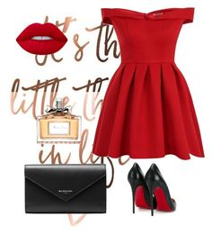 """""""Untitled #577"""" by elma-alibasic ❤ liked on Polyvore featuring Chi Chi, Lime Crime, Christian Dior, Balenciaga and Christian Louboutin"""