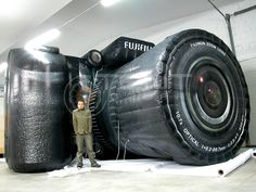 FUJIFILM Inflatable camera